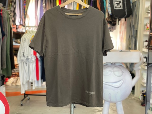 ESSENTIALS BOXY S/S TEE CHACOAL XS 15KG7875