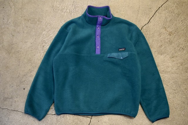 USED 90s patagonia Synchilla Snap-T -Large F0608