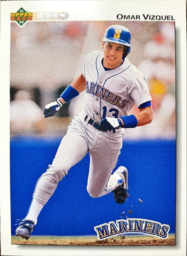 MLBカード 92UPPERDECK Omar Vizquel #401 MARINERS