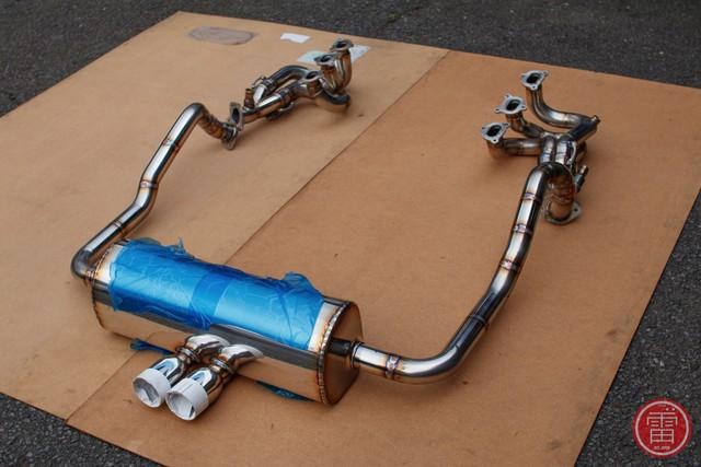 ボルケーノ 981 GT4 ステンレス マフラー / VOLCANO 997 GT4 Stainless Muffler