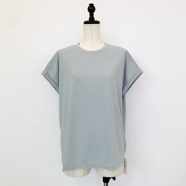MICA&DEAL (マイカ&ディール) ヘムラウンドTシャツ 0121209133