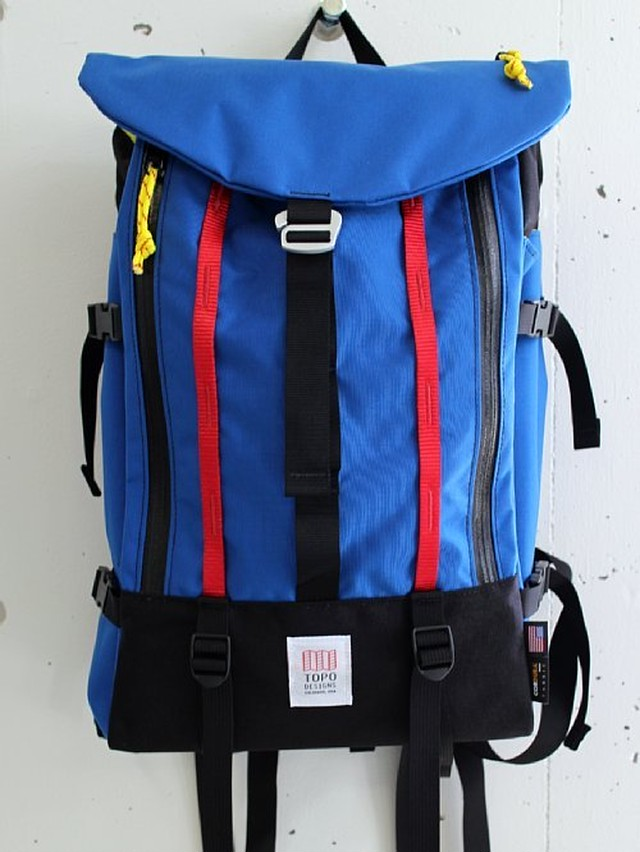 TOPO DESIGNS トポデザイン  MOUNTAIN PACK -ROYAL BLUE-