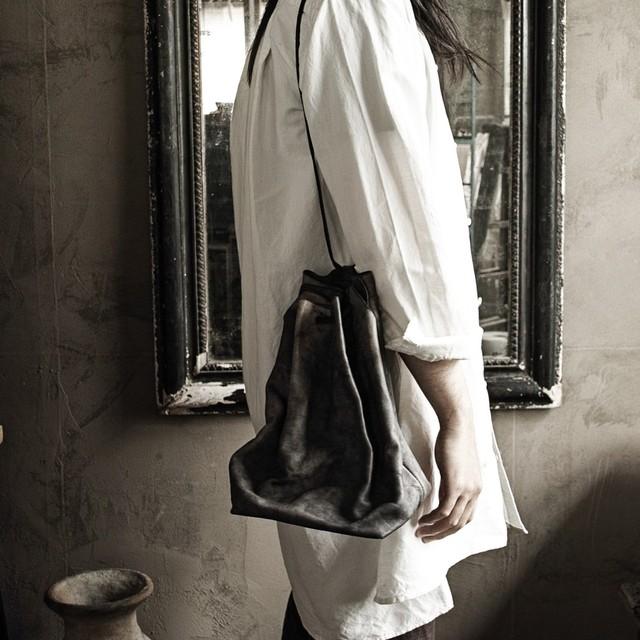 巾着鞄 sasaki yuichi