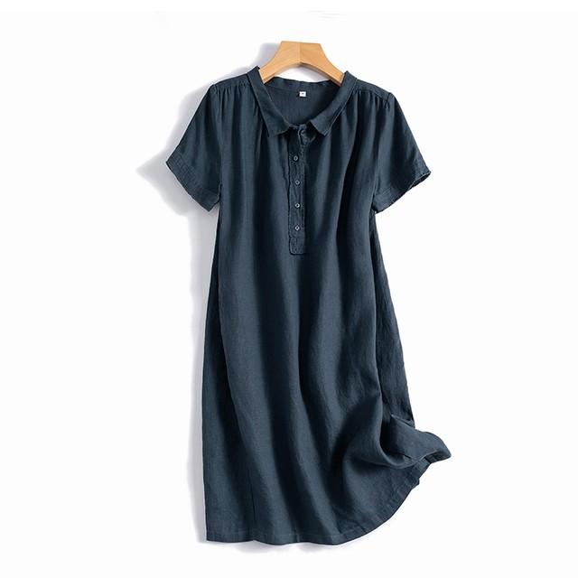 【ワンピース】質感のいい スウェート3色 半袖 配色 気質 カジュアル ワンピース44416418
