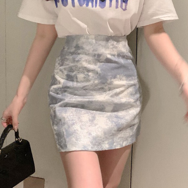 【ボトムス】抜群なデザイン ハイウエスト セクシー INS風 ショート丈 気質満点 スカート-5-46623478