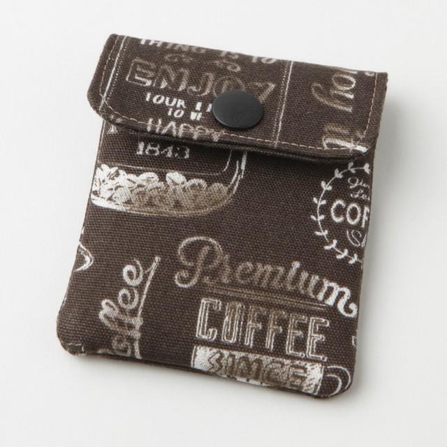 携帯灰皿 おしゃれ かわいい アメリカン カフェ ブラウン 48145 熟練職人のハンドメイド インナーリフィル合計2個付属 日本製