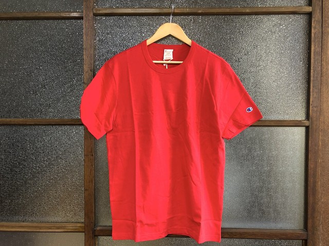 CHAMPION REVERSE WEAVE CLASSIC TEE (RED)