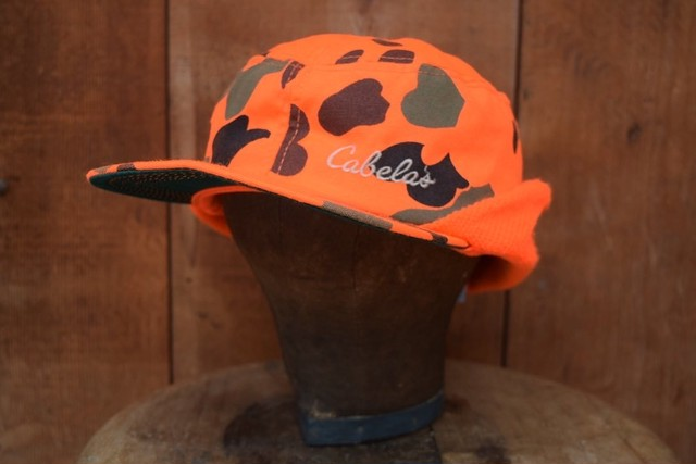 USED 80s Cabela's Hunting Cap -Large G06
