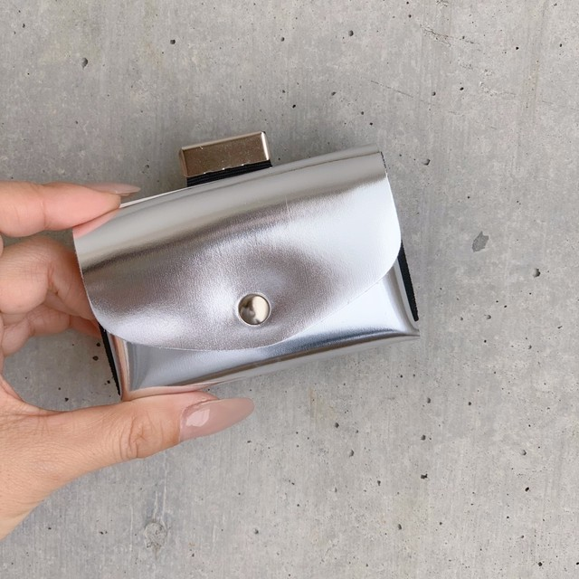 enrich everyday × com-ono Everyday TINY Wallet/SILVER(シルバー)