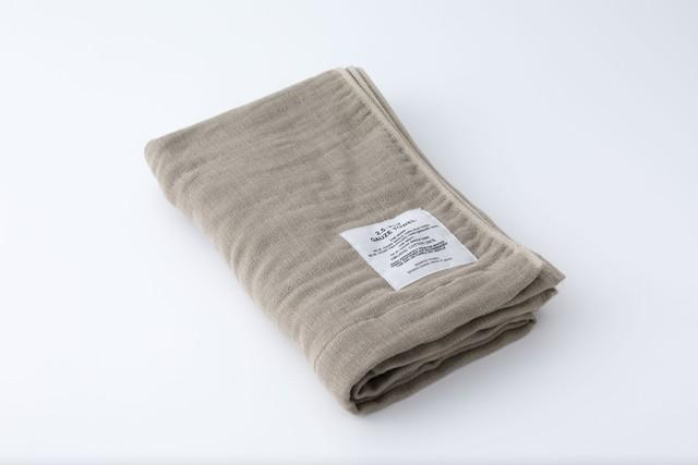 2.5-PLY GAUZE TOWEL:BATH TOWEL (Beige) / SHINTO TOWEL