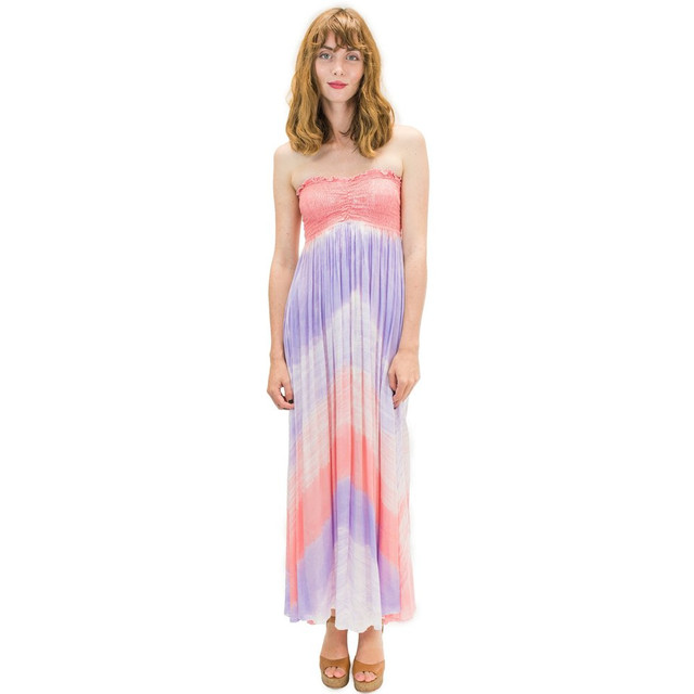 Angels by the sea/ Kula Long Dress In Wave