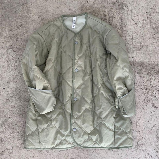 MOUN TEN. quilt mitten coat (sage green) 110/125/140  [MT202035-a] MOUNTEN.