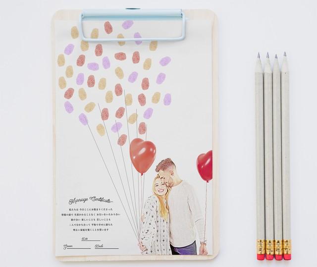 【風船】ウェディングツリー│結婚証明書