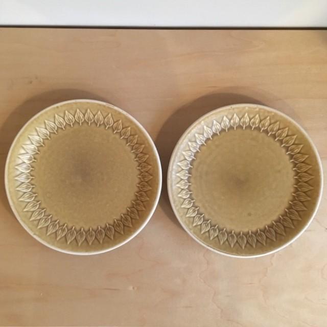 【北欧ヴィンテージ】2枚セットB Jens.H.Quistgaard Relief plate 200 vintage イェンス・クイストゴー レリーフ プレート