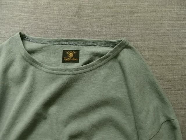 da cotton-belgiumlinen longsleeve / belgium-mint