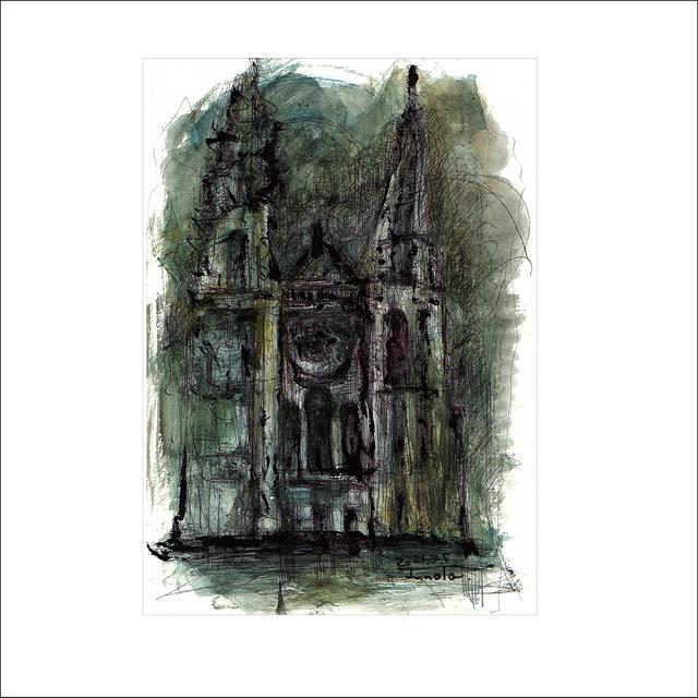 「シャルトル大聖堂」