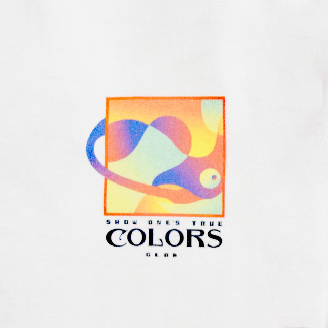 Colors BIG T-Shirts / White