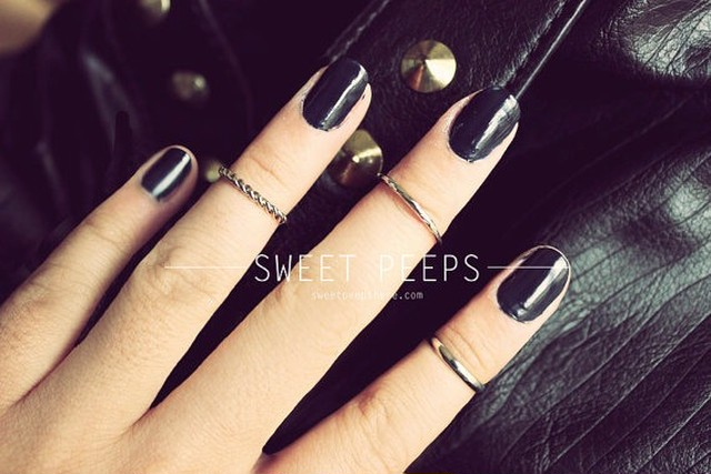 3 Silver Knuckle Rings