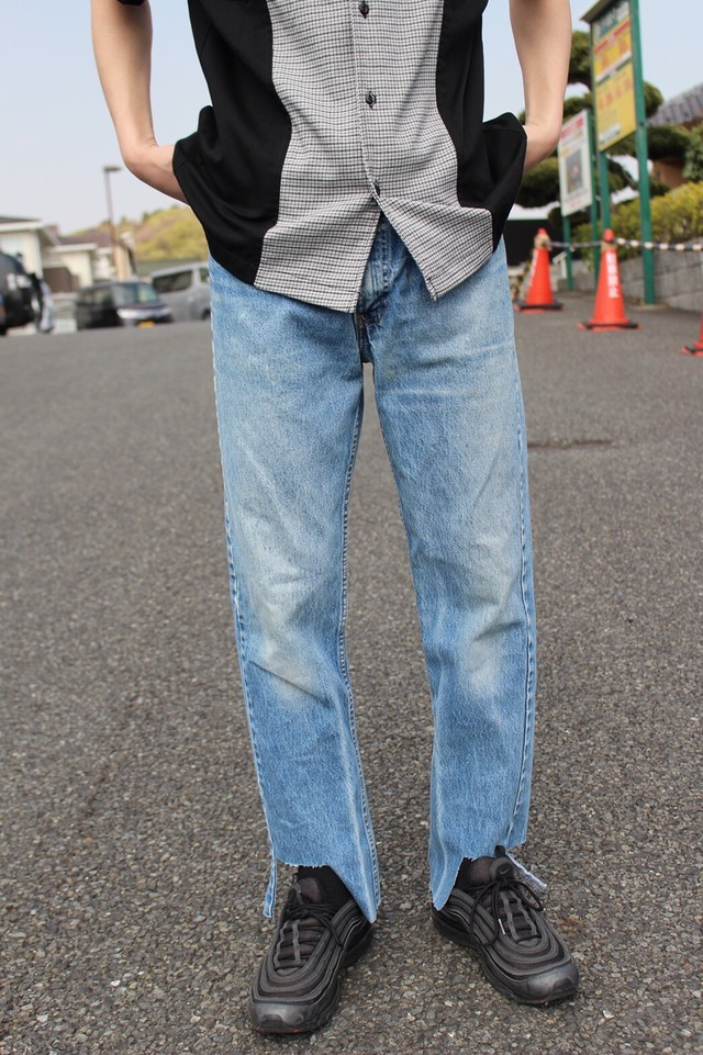 Remake Levi's 505 Cutting Pants