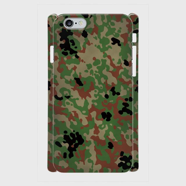 陸上自衛隊 迷彩2型  iPhoneケース