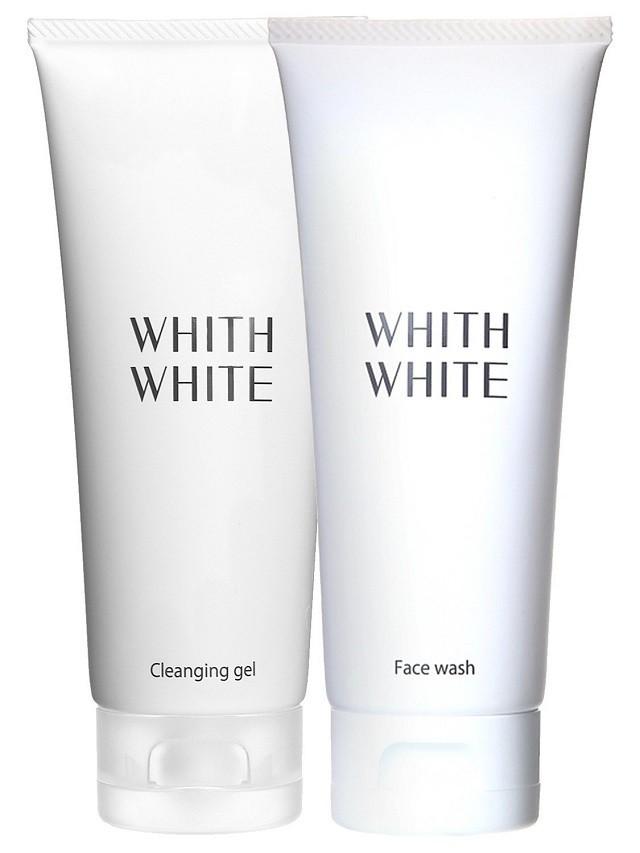 WHITH WHITE 【クレンジングジェル&洗顔】セット