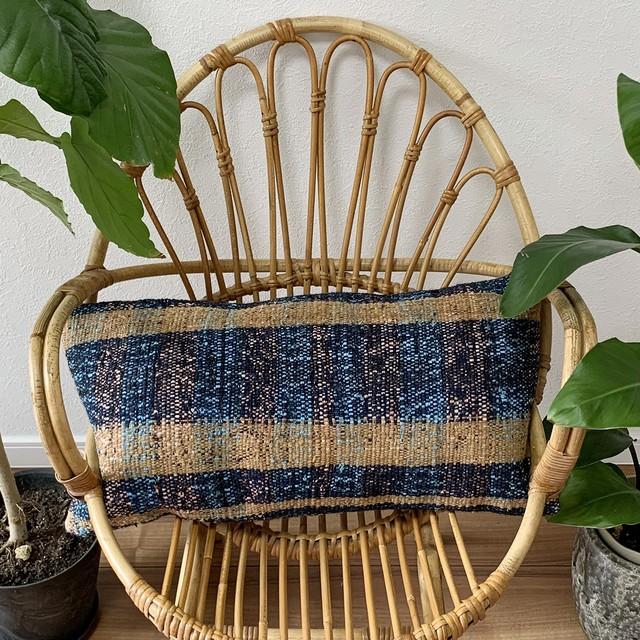 手織り キリム クッション 長方形ロング C059