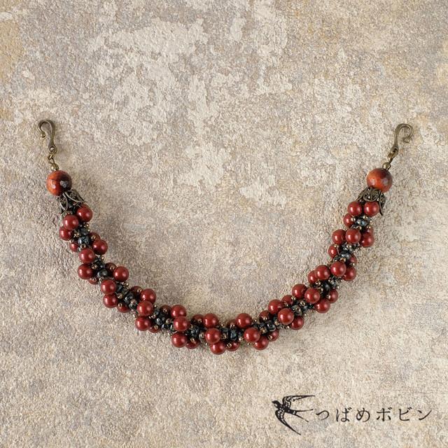 【Men's】スパイラルロープの羽織紐◎RBG001