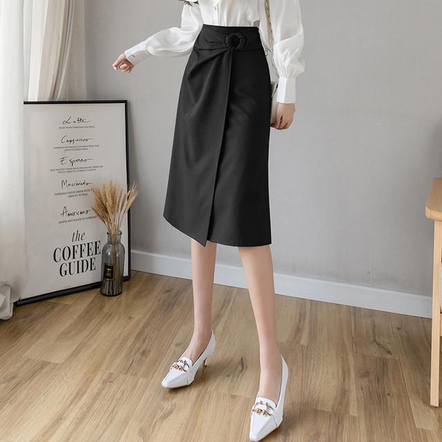 【bottoms】スタイリッシュ快適スカート