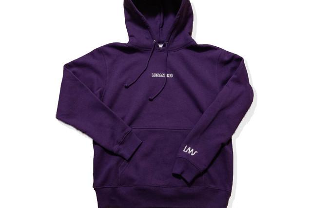 10/31 再販【small logo parker】/ purple