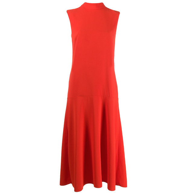 VICTORIA VICTORIA BECKHAM BACK TIE DRESS