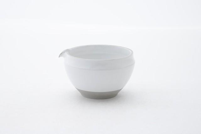 ORIGAMI 片口抹茶碗(レッド)