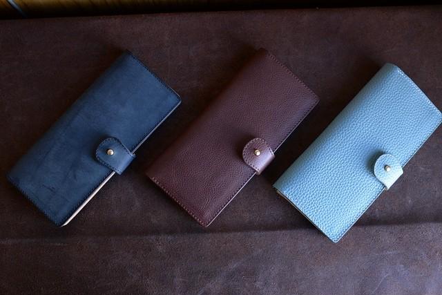スタンダードな革の長財布