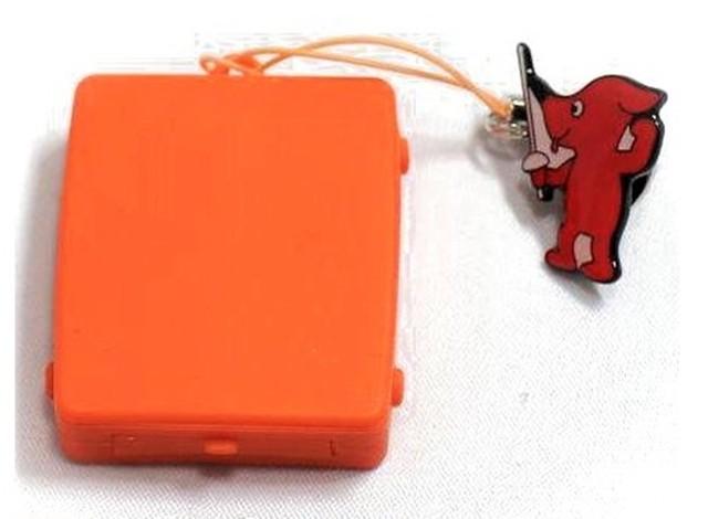 """触感時計""""タックタッチ"""" ストラップ型 振動の数で時刻がわかる ピュア・オレンジ"""