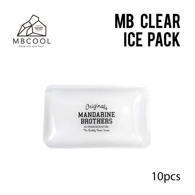 MB CLEAR ICE PACK 10pcs SET (742001×10) アイスパック10個セット
