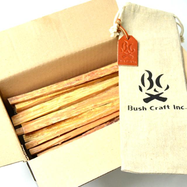 Bush Craft Inc ブッシュクラフト ブッシュクラフト.jp ティンダーウッド 1000g  火おこし 自然派 キャンプ アウトドア サバイバル bc4573350720646