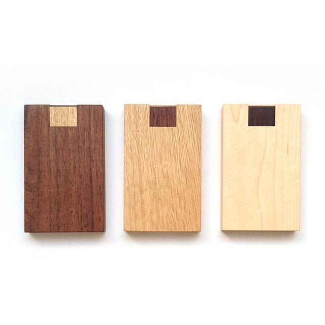 押型名刺ケース(カードケース/3樹種)