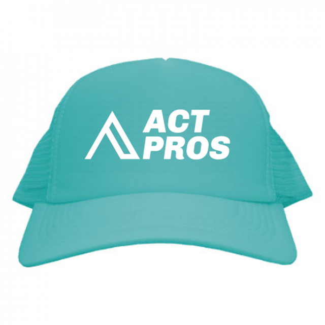 【EQUIPMENT/KID'S】ACTPROS オリジナルロゴ メッシュキャップ キッズ【19colors】