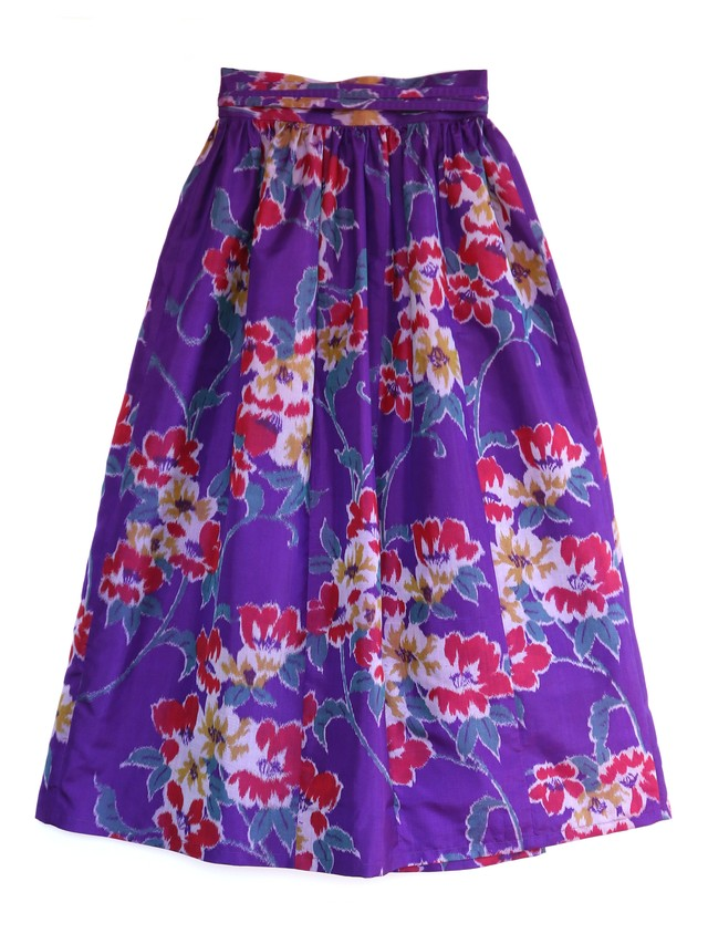 SOPHIA WRAP SKIRT - grandma bouquet