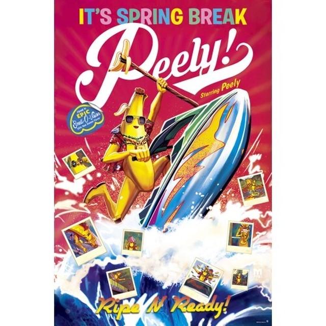 『フォートナイト』ポスター  (2)  SPRING BREAK PEELY   / エンスカイ