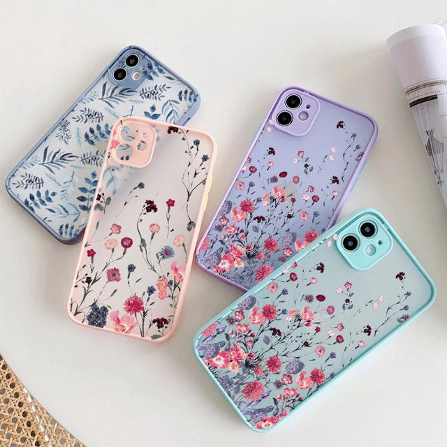 Bright flowers iphone case