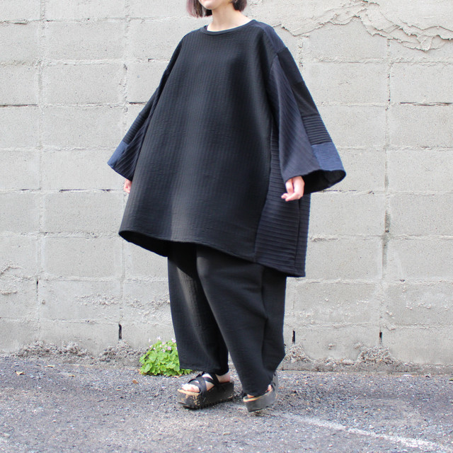 Wide-T-shirts (black)