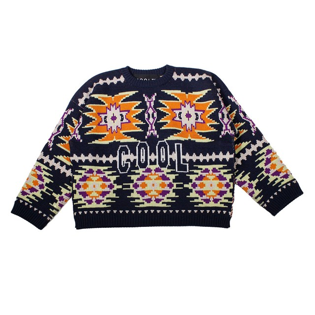 COOL TM Crew Neck Knit Tops