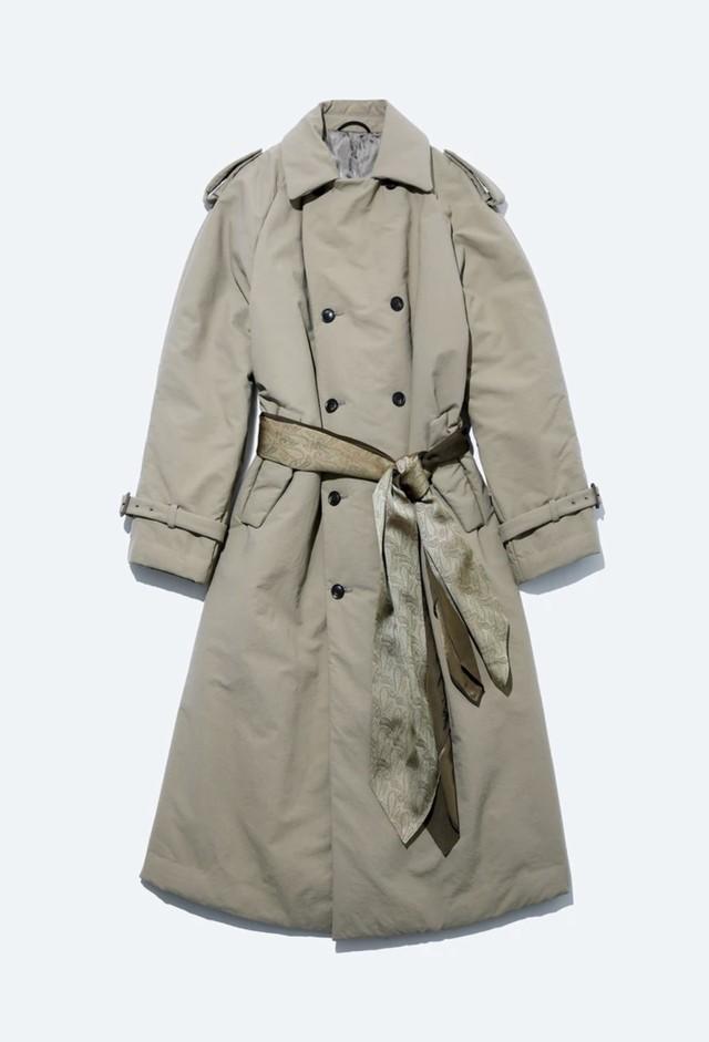 【TOGA VIRILIS】NYLON PADDING LONG COAT