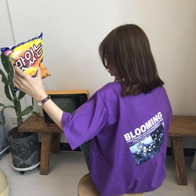【トップス】個性派INS大人気アルファベットTシャツ26797058