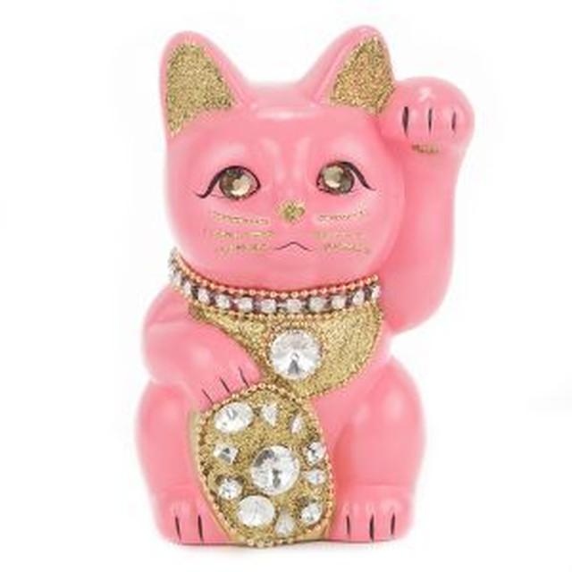 ジュエリーキャット(クリスタル) / M-Size / ピンク(Pink)