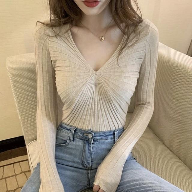 シャーリング シンプル ロングTシャツ 4色 B3324【4/5まで10%OFF!!】