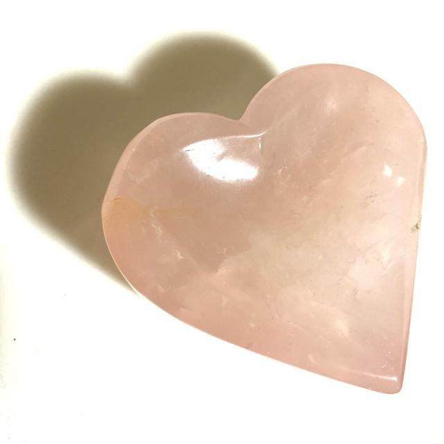 Fancy Heart Tray / ローズクォーツ