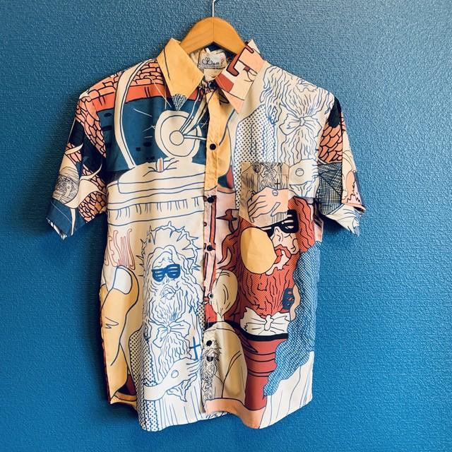 ファンキージーザスのアロハシャツ