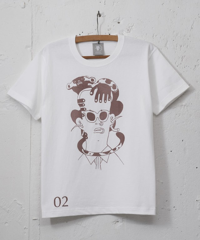 "Page. < 02 >  "" SPOTTED MONKEY & MAN """