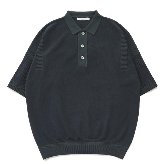 【YASHIKI】Yuyake Knit Polo